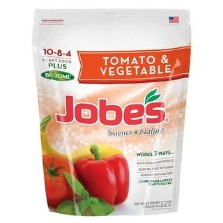 Jobes 59066 Tomato and Vegetable Fertilizer, 6 Lb