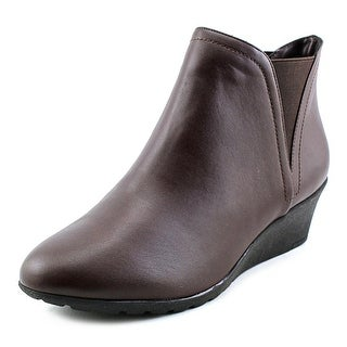 Hush Puppies Electra Rowley Women Round Toe Leather Ankle Boot