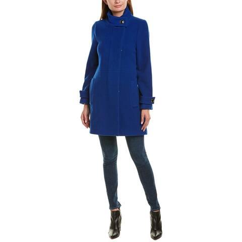 Trina By Trina Turk Lucy Wool-Blend Coat