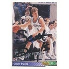Scott Brooks Minnesota Timberwolves 1992 Upper Deck Autographed Card This item comes with a certif