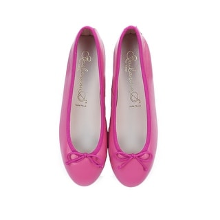 Bailarinas EMMA CTT Hot Pink Suede Leather Classic Ballerina Flat