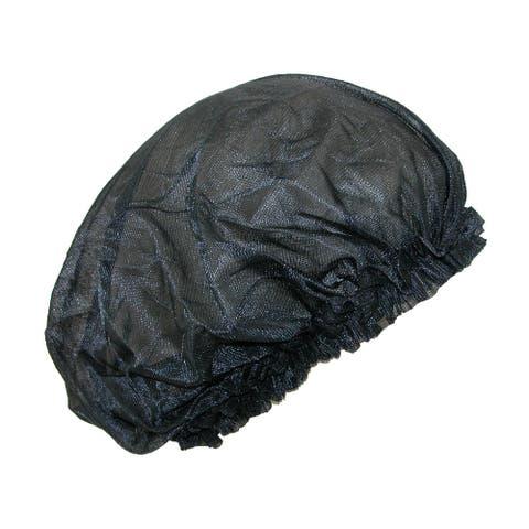 CTM® Women's Satin Jumbo Hair Roller Sleep Cap with Elastic