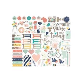Simple Stories Carpe Diem Posh Sticker Calendar