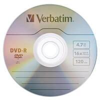 Verbatim 97957 4.7gb 16x Dvd-rs, 10 Pk Bulk Box