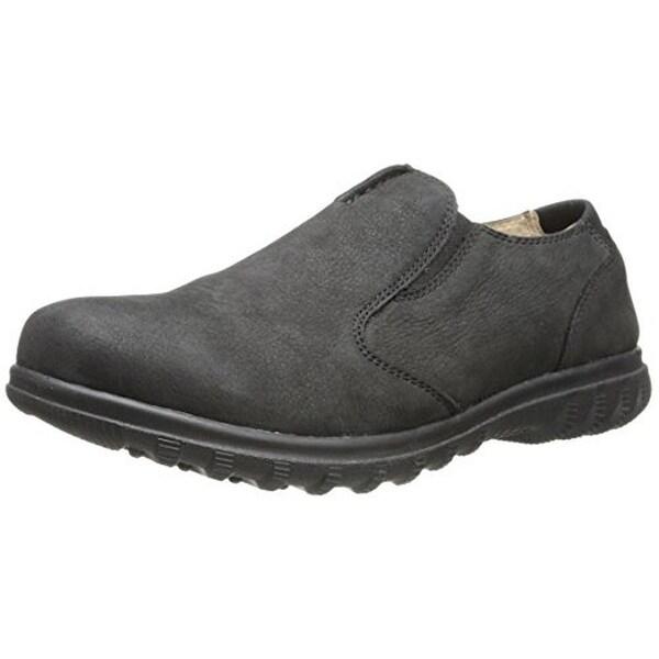 Bogs Mens Eugene Slip-On Shoes Suede Waterproof