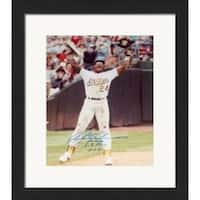 Rickey Henderson Autographed Limited Edition 16 x 20 in. All Time