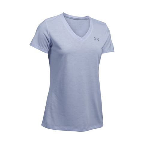 Under Armour Women's Threadborne Train Twist V-Neck Top