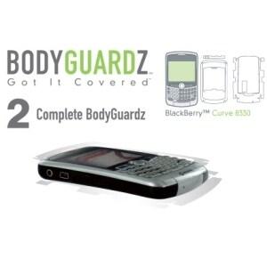 BodyGuardz Scratch proof Body & Screen Protection for Blackberry 8330 Curve