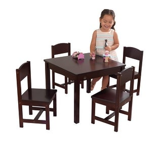 KidKraft: Farmhouse Table & 4 Chairs - Natural