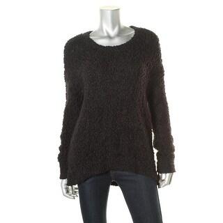 Calvin Klein Jeans Womens Eyelash Textured Pullover Sweater - M