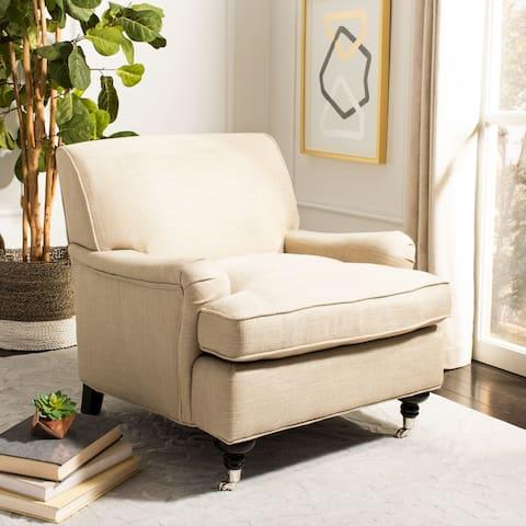 """SAFAVIEH Colin Tufted Club Chair - 29.3"""" x 34.3"""" x 31.5"""""""