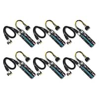 PCIe Riser 16x to 1x (6 pack)