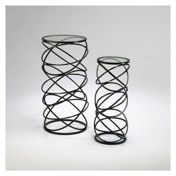 "Cyan Design 2764 28"" Spiral Tables"