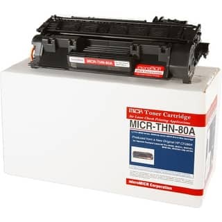 Micromicr MICRTHN80A Micromicr MICR Toner Cartridge - Replacement for HP (CF280A) - Black - Laser - 2700 Page - 1 Each|https://ak1.ostkcdn.com/images/products/is/images/direct/1eb983c563f971dea63cda3f9762255eb23d608e/Micromicr-MICRTHN80A-Micromicr-MICR-Toner-Cartridge---Replacement-for-HP-%28CF280A%29---Black---Laser---2700-Page---1-Each.jpg?impolicy=medium