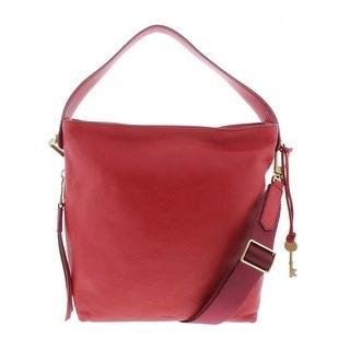 Fossil Womens Maya Hobo Handbag Leather Convertible - LARGE
