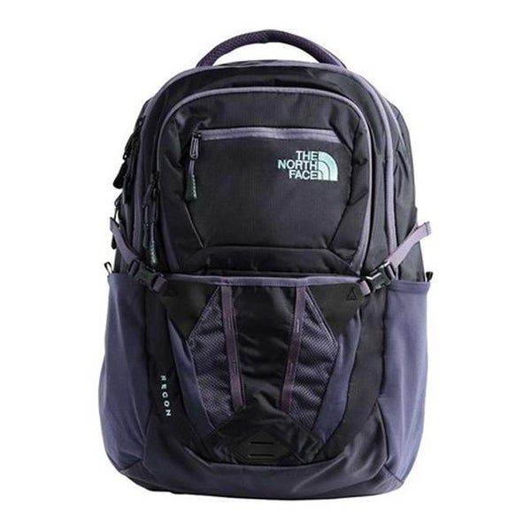8d405a409 Shop The North Face Women's Recon Backpack Greystone Blue Ripstop/Mint Blue  - US Women's One Size (Size None) - Free Shipping Today - Overstock -  25665371