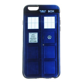 Doctor Who TARDIS Flexi Plastic iPhone 6 Case - multi