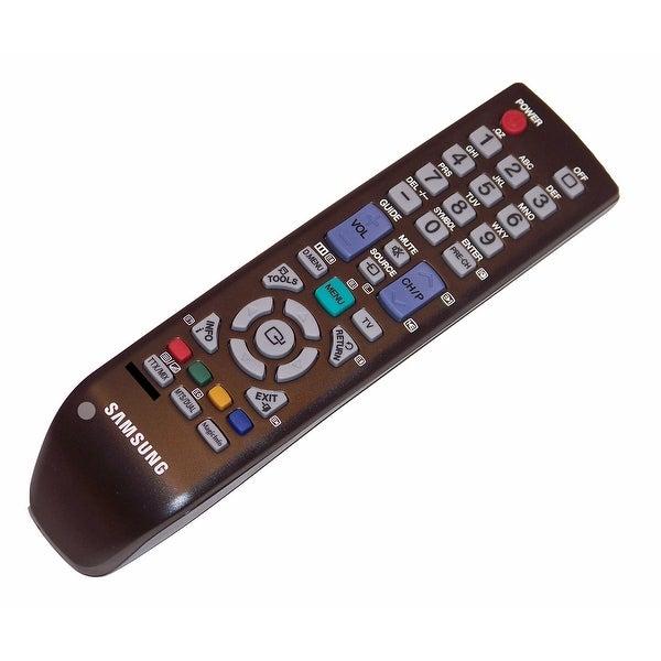 OEM Samsung Remote Control: LH46MRPLBF/ZB, LH46MRPLBF/ZD, LH46MRPLBF/ZX, LH46MRPLBFMZD, LH46MRTLBC/EN, LH46MRTLBC/XF