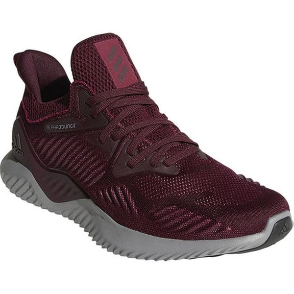 online store 83c53 6b870 adidas Menx27s Alphabounce Beyond Running Shoe MaroonMaroonMystery Ruby