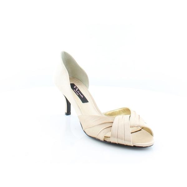 Nina Culver Women's Heels Gold