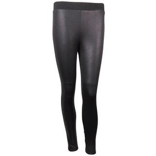 Karen Kane Women's Lifestyle Crackled Faux Leather Legging Pants - XS
