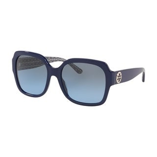 Link to Tory Burch TY7140 18148F 57 Navy Woman Square Sunglasses Similar Items in Women's Sunglasses