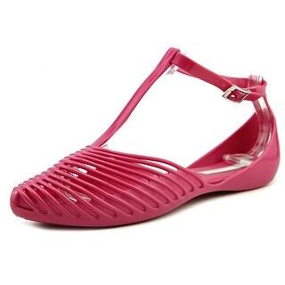 Melissa Helena Pointed Toe Synthetic Flats