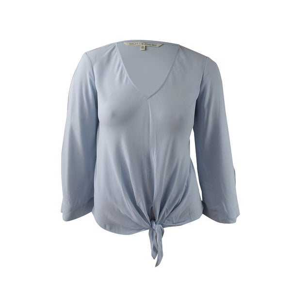 1537335a06c Shop RACHEL Roy Trendy Women s Plus Size Tie-Front Top (0X