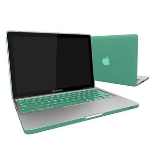 "Rubber Coated Hard Snap-On Case Skin Cover for Apple MacBook Pro 13"" with Keyboard Skin A1278 - Ocea"