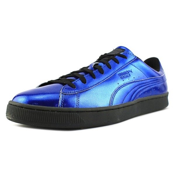 Puma Basket Classic Explosive Men Round Toe Synthetic Blue Sneakers