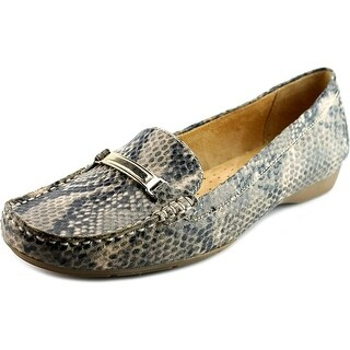 Naturalizer Gadget Square Toe Synthetic Loafer