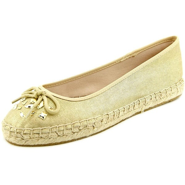 Style & Co Valorr Women Round Toe Canvas Gold Espadrille