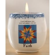 Jim Shore 'Faith' Candle Crock
