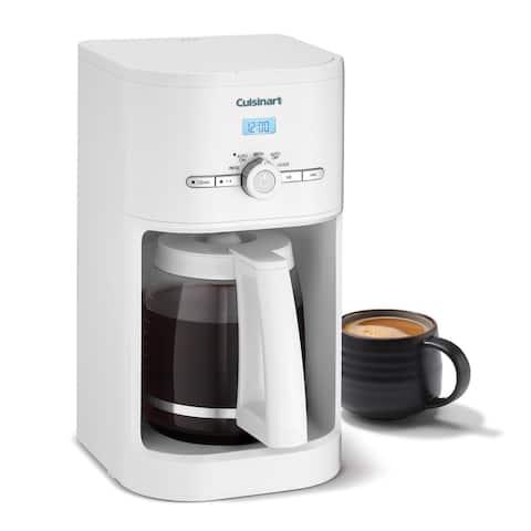 Cuisinart DCC-1120BK 12-Cup Programmable Coffeemaker, Black - 12 Cup