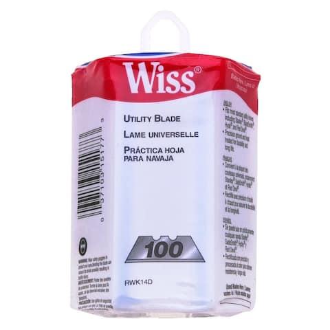 Wiss RWK14D Utility Knife Blade Dispenser, 100/Pack