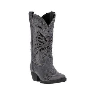 Laredo Fashion Boots Womens Stevie Sequin Underlays Snip Black