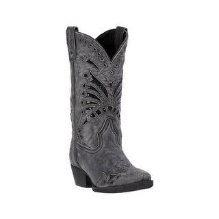 f2afc968dd01 Laredo Western Boot Women Bridget Stitched Cowboy Distressed Tan. Quick View
