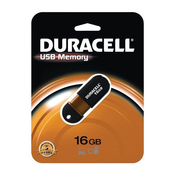 Duracell 3369303 16 GB USB Flash Drive
