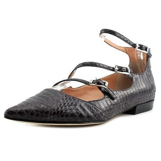 Sigerson Morrison Pulie 2 Women Pointed Toe Leather Purple Flats