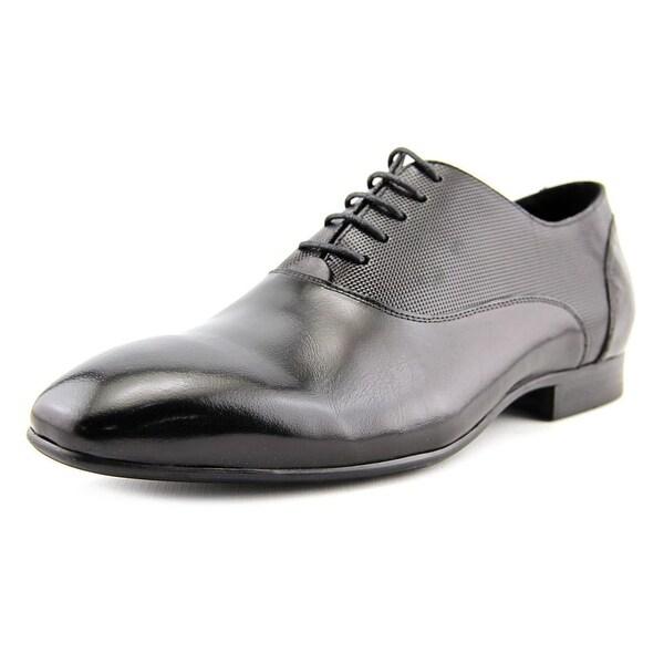 Aldo Mailer Men Apron Toe Leather Black Oxford