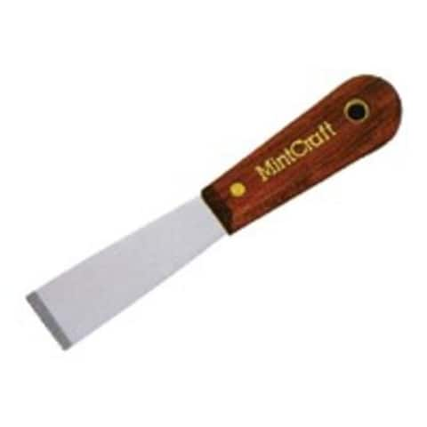 "Mintcraft 01520R Wood Flex Putty Knife, 1-1/4"""