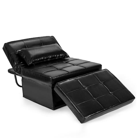 Gymax 4 in 1 Multi-Function Sofa Bed Convertible Sleeper Folding - See Details