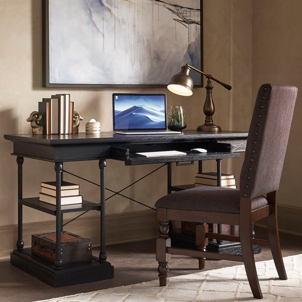 Barnstone Cornice 1-drawer Storage Writing Desk by iNSPIRE Q Artisan. Opens flyout.
