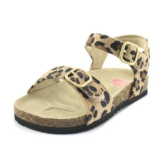 Stride Rite Zuly Toddler Open-Toe Leather Multi Color Slingback Sandal