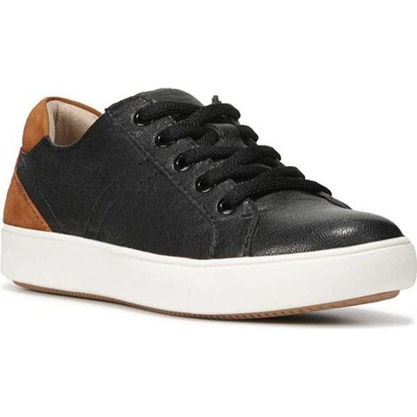 Shop Naturalizer Women s Morrison Sneaker Black Leather - On Sale ... a263a7ecb5fe