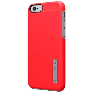 Incipio DualPro Case Cover for Apple iPhone 6 (Red/Gray) - IPH-1179-REDGRY