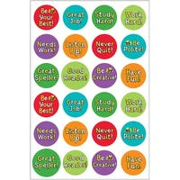 Hygloss Themed Stickers 3/Pkg-Be Your Best