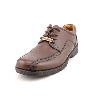 Dockers Brigade Men Round Toe Leather Brown Oxford