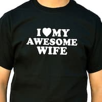 I Love My Awesome Wife Men's T-Shirt