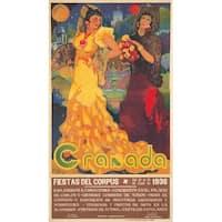 Granada (Reyes) Spain c. 1936 - Vintage Poster (Art Print - Multiple Sizes)